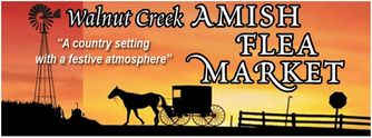 Logo, Walnut Creek Amish Flea Market
